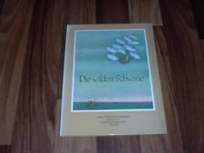 Hans Christian Andersen+Dominique Leclaire -- Die WILDEN SCHWÄNE / Nord-Süd 1985