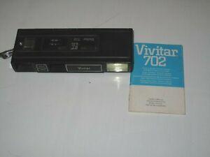 Vintage  Vivitar 702 Point 'n Shoot Pocket Camera/ 1970's.  Great Collectible