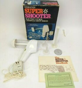 VTG Wear-Ever Super Shooter PS 7204/70001 Electric Cookie Maker -Complete in Box