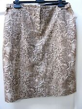 d70d326fb4df0 New Gerard Darel Snakeskin Print Skirt Animal Sz 40 UK 12 Bloggers Trend  Pencil