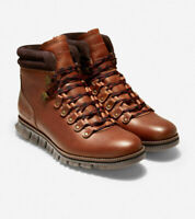 Cole Haan Men Zerogrand Hiker WP Boot US 11.5W British Tan Leather C30405