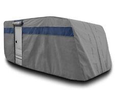Telo Copri Roulotte Caravan 475-495CM Con Porta Impermeabile Traspirante