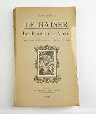Le Baiser Jean Hervez courtisanes et ruffians en Italie au XVIe Erotica 1920