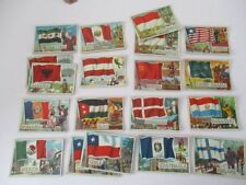 A&BC Flags Collectable Confectionery & Gum Cards