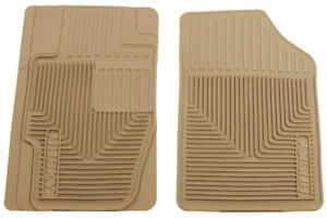 Husky Liners Heavy Duty Tan Front Floor Mats for 06-08 Ford Fusion & More