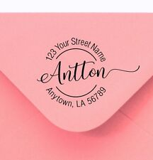 Self Inking custom return address rubber stamps gift