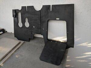 PORSCHE 356 Custom Pedal Board Set w/ Hatch, T5 B, Door, Foot Floor