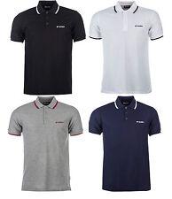 New Mens Lotto Polo Shirt T-Shirt Top Retro Vintage Golf Classic Branded Fashion