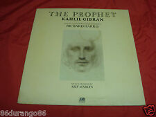 THE PROPHET KAHLIL GIBRAN RICHARD HARRIS ARIF MARDIN  VINYL LP RECORD ALBUM