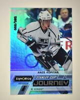 2020-21 UD Synergy Stanley Cup Journey Post-Season #CJ-AK Anze Kopitar /899