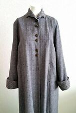 New listing Vintage Styled By Lanson Coat 1950's Original Swingy Gray Outer Coat