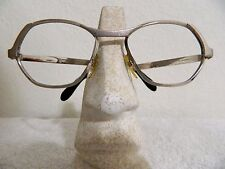 Vintage Eyeglasses Noblesse Frame Couture by ERWA Chrome silver W. Germany 60s