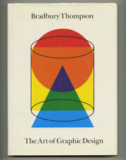 1988 Bradbury Thompson Signed copy ART OF GRAPHIC DESIGN Huge 232-pg Yale Univer