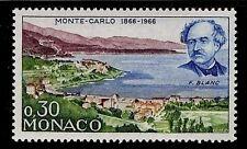 MONACO #633 Monaco Centenary 1866-1966 F. Blanc MNH VF OG 0,30F 1966