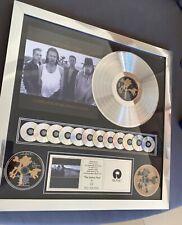 U2 Joshua Tree Platinum Award