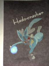 Pokemon Doujinshi Lucario Anthology (A5 66pages) Furry Kemono Hado-Crasher