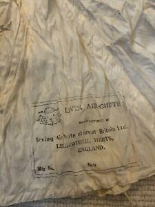 Original ww2 raf pilots Irvin parachute harness drouge chute battle off Britain