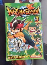 INAZUMA ELEVEN tome 3 Tenya Yabuno MANGA shonen livre