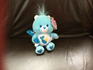"HTF-2003 Care Bears Baby Tugs Mini Bear Plush Doll 7"" Inch NWT-Vintage"