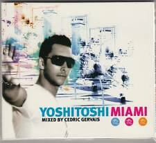 Yoshitoshi - Miami mixed by Cedric Gervais (CD 2007) Digipack !!!