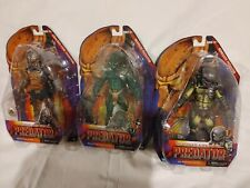 Lot of 3 - NECA Predator Scavage, Renegade, Cracked Tusk action figures