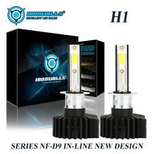 2x H1 for Ford Focus 2012-2018 Headlight High Beam LED 6000K White 2200W Bright