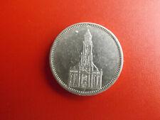 * III.Reich 5 Reichsmark 1935 F. Silber * Ganisonkirche (46)(S6)