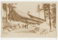Grouse Mountain Chalet North Vancouver Canada Vintage RPPC Postcard US022