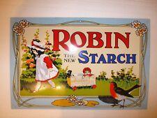 Robin Starch Enamel Sign by Garnier