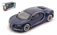 Coche Auto Escala 1:43 Burago Bugatti Chiron diecast miniaturas Supercar New