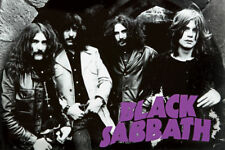 BLACK SABBATH CLASSIC GROUP PHOTO POSTER OZZY,TONY,GEEZER,BILL NEW  !