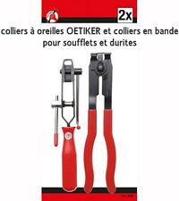 2 PINCE POUR COLLIER AUTOMOBILE SOUFFLET DURITE