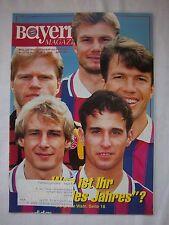 Orig.PRG   1.Bundesliga  1995/96   FC BAYERN MÜNCHEN - FORTUNA DÜSSELDORF  !!