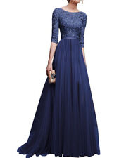 Women Lace Long Maxi Dress Cocktail Evening Wedding Party Formal Dresses Vintage