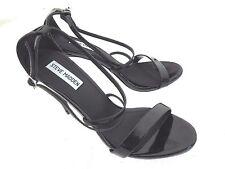 Steve Madden 'Feliz'  Black Open Toe High Heel Pumps Women's Size 8.5