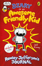 Diary of an Awesome Friendly Kid - A Wimpy Kid Book by Jeff Kinney - Hardback