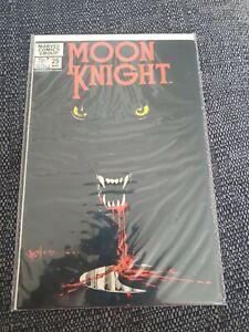 Moon Knight 29 Classic Bill Sienkewicz Cover