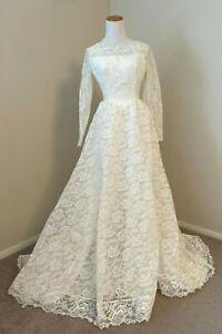 Regular Size 1960s Vintage Wedding Dresses Veils For Women For Sale Ebay