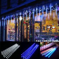 Meteor Shower Falling Star/Rain Drop /Icicle Snow LED Xmas Tree String Light USA
