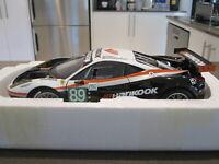1:18 HOT WHEELS ELITE FERRARI 458 GT2 LM 2011 FARNBACHER RACING *NEW*