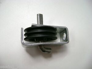 Replacement Gas Ram Pulley with bracket to suit push down Horn cabinet lifter.
