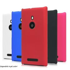 Pellicola + Custodia HARD MATTE per Nokia Lumia 925 Back Cover Rigida Colorate