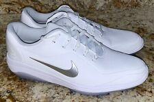 NIKE React Vapor 2 White Silver Grey Golf Shoes Ladies NEW Womens 6.5 7 9.5 10