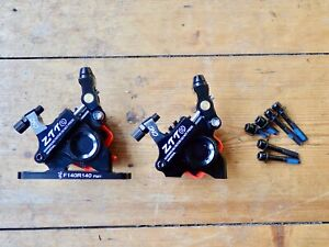 New ZTTO F&R flat mount road/CX/gravel hydraulic cable disc brakes (HY-RD style)