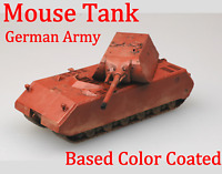Easy Model 1/72 German Army Mouse Tank Based Color Coated #36203