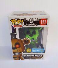 Funko Pop Nightmare Freddy Glow in the Dark Five Nights at Freddys - New in Box