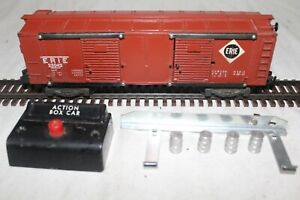 American Flyer #25042 OPERATING ------ERIE BOXCAR-----  EXCELLENT CONDITION