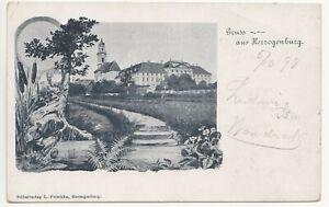 Herzogenburg,Gruss aus Herzogenburg,1898 gelaufen