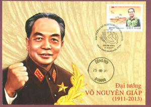 smalls colections stamps General Vo Nguyen Giap 2017