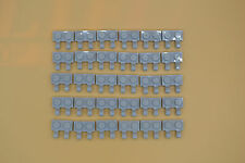 Lego 30 x placa 1x2 con 2 clips neuhell gris | newlight Grey two clips 60470